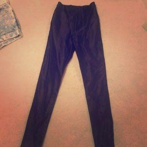 American apparel original black disco pants